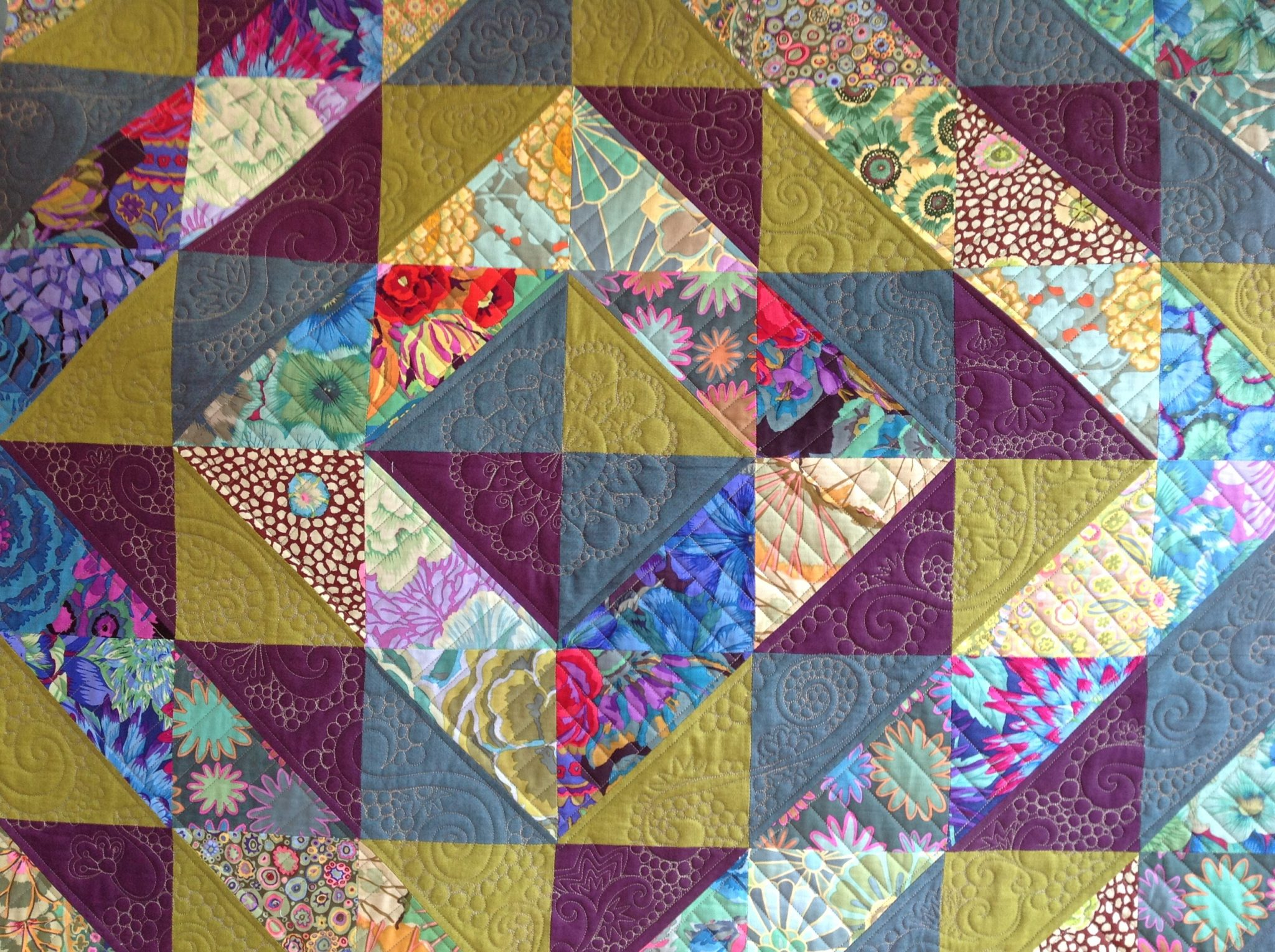 Day Of The Triffids Quilt Free Bird Quilting Designs