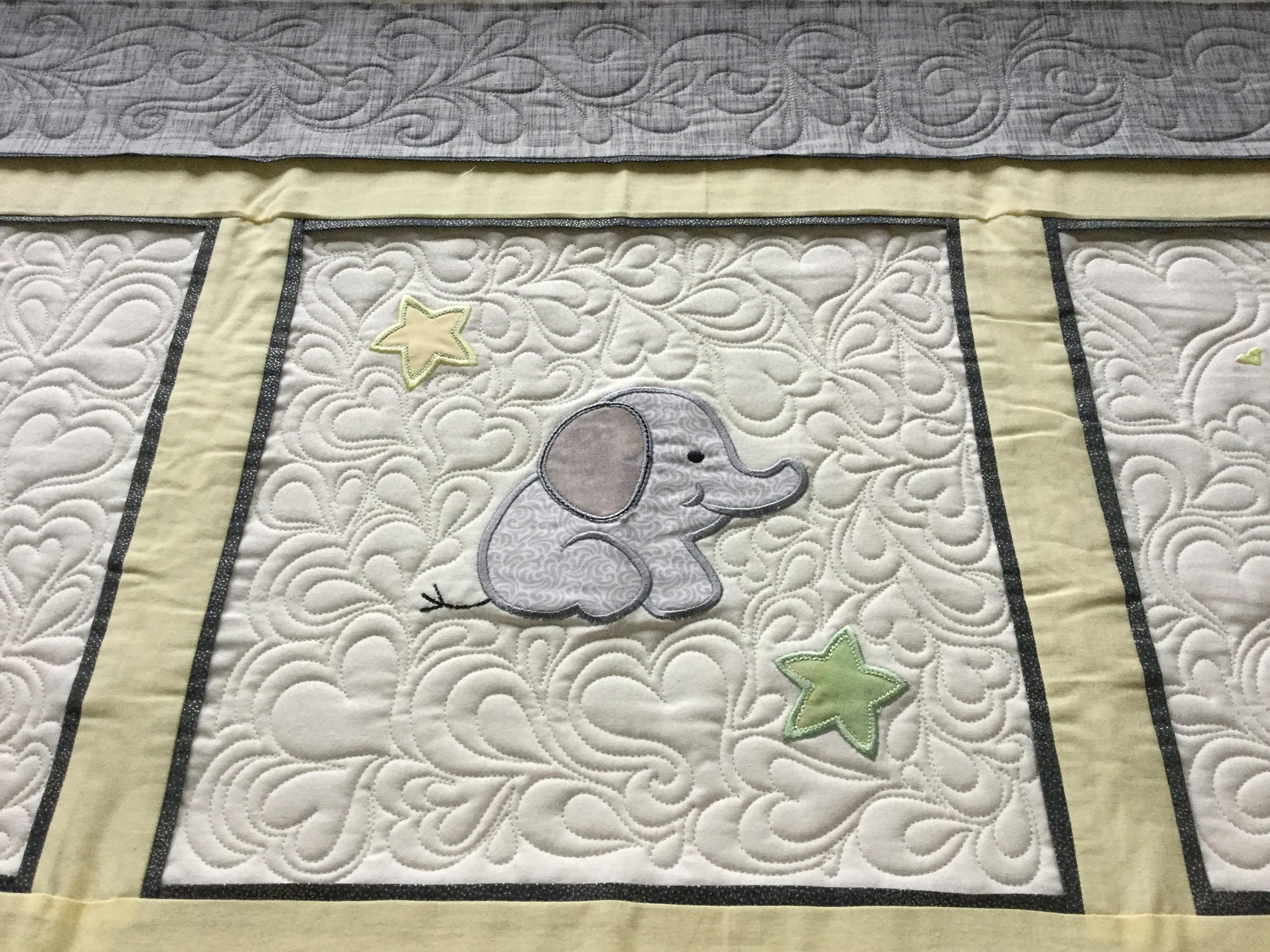 Marets Applique Baby Quilt Free Bird Quilting Designs