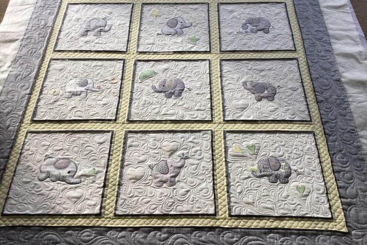 Marets Applique Baby Quilt