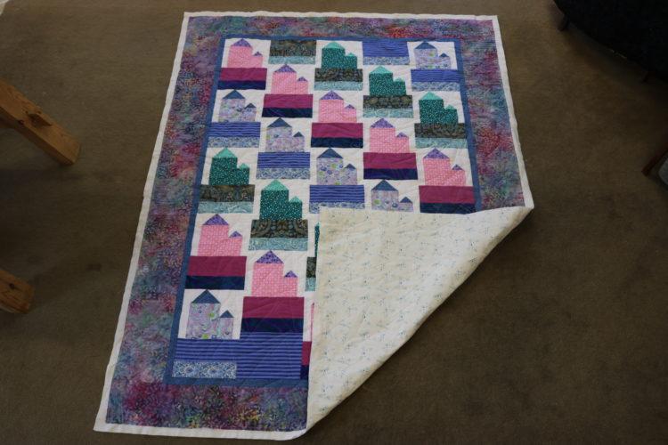 Shonaids houses quilt