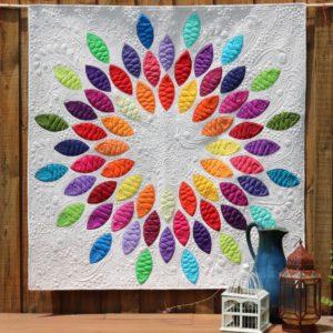 Seed Burst quilt pattern