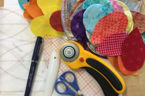 'Seed Burst' Quilt tips and tricks