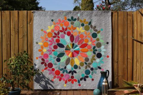 Modern Mandala Quilt